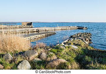 Stone and wooden bridges