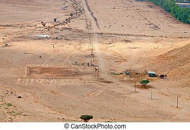"desert - Stone ""Arabian desert"" near Riyadh, Saudi Arabia"