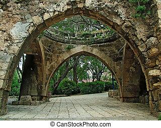 Ancient part of Jaffa , Israel