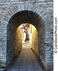 Stone Arch in Tallin