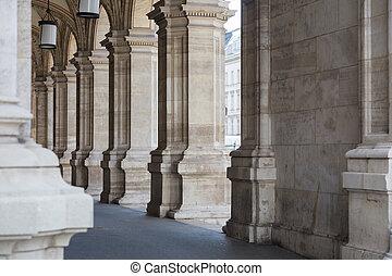 Stone archway, Vienna