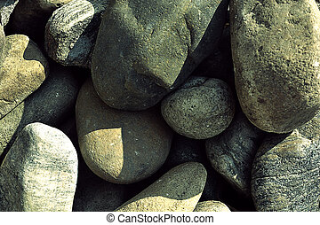 Stone background in grunge style. Photo of the image.