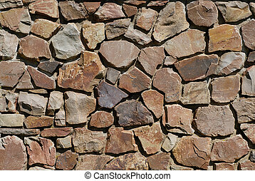 Stone Background - Stone Wall For Use As A Background Design