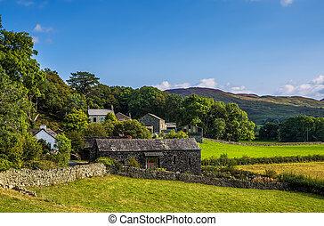 Stone barn in Cumbria