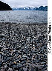 Stone Beach Fox Island Alaska