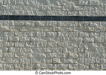 Stone block wall background