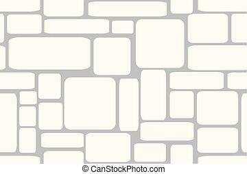 Stone bricks. Seamless vector illustration