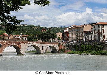 Stone Bridg in Verona, Italy