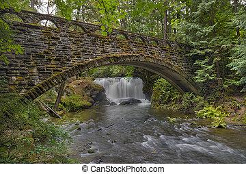 Stone Bridge at Whatcom Falls Park - Stone bridge at Whatcom...