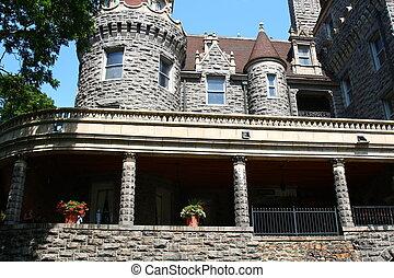 stone castle architecture