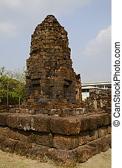 Stone castle of frame