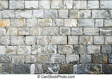 Stone castle wall texture