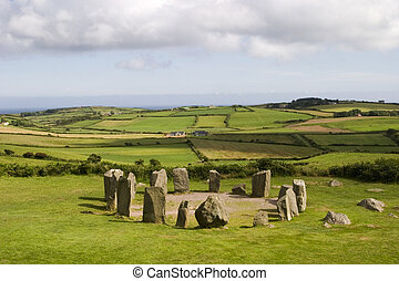 Stone Circle at Drombeg - An ancient stone circle at Dombeg...