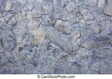 Stone covering of a wall