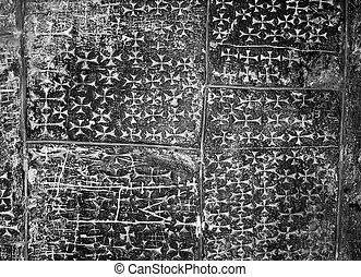 Stone Cross Carvings