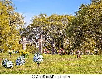 Stone Cross Cemetery Dedication
