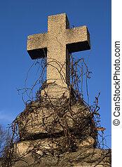 Stone cross
