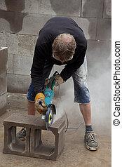 Stone cutting