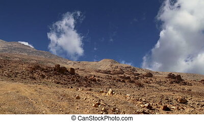 Stone desert,Jordan, Middle East - Stone desert (typical...