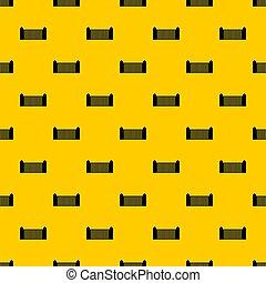 Stone fence pattern