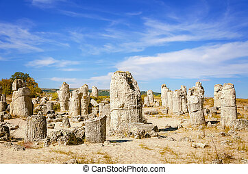 Stone Forest - Fabulous Rock Phenomenon. Varna Province, Bulgaria