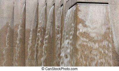 Stone Granite Water Fountain 1080p