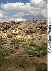 """Stone grave - The \""""Stone Grave\"""" or \""""Rocky Mound\""""..."""
