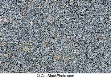 gravel closeup