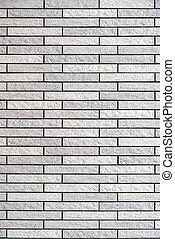 Stone gray vintage brick wall pattern