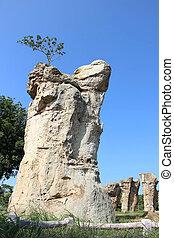 Stone henge of Thailand, Mor Hin Khao at Chaiyaphum province...