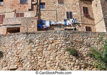 Stone houses of Pienza