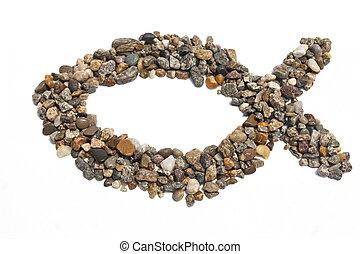 Stone Ichthus