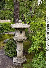 Stone Lantern at Japanese Garden 3