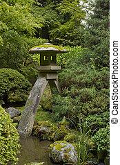 Stone Lantern at Japanese Garden 4