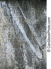 stone., manoscritto