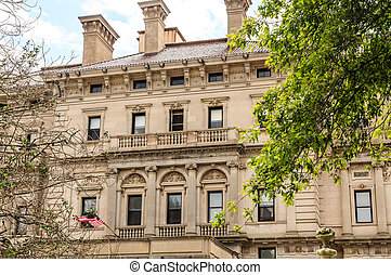 Stone Mansion in Newport