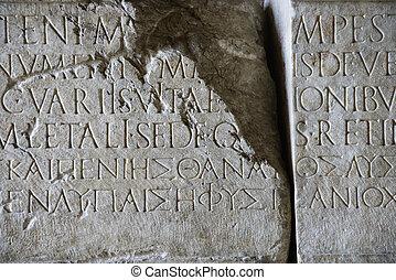 stone., manuskript