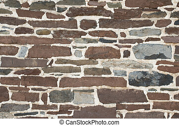 Stone masonry wall background texture