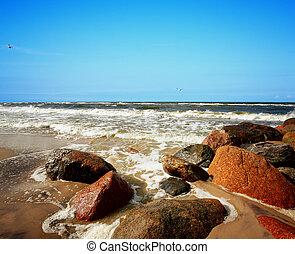 Stone of a Beach