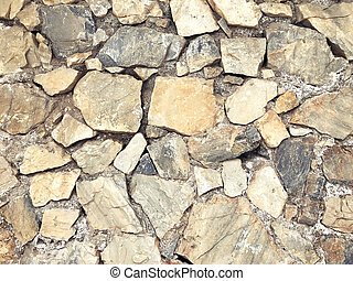 Stone old wall for texture background, abstract photo