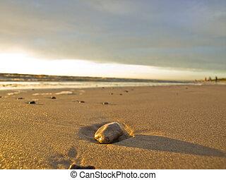 Stone on the sea