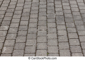 stone paved avenue street road