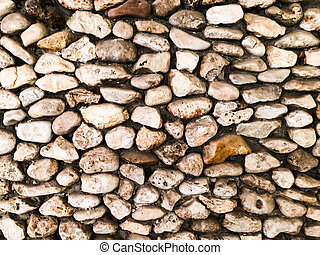 Stone pebbles for interior exterior decoration design business