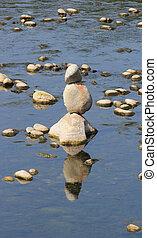 stone Pile Sesia River