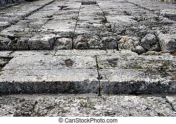 stone podlaha