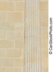 Stone Roman Column
