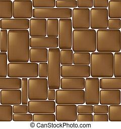Stone seamless background - Seamless brown sleeken stone...
