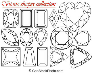 stone shapes collection