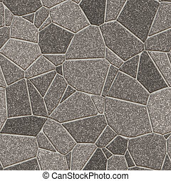 Stone Slab Seamless Pattern Hyper Realistic Bitmap Rendering