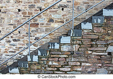 stone stairs photo detail